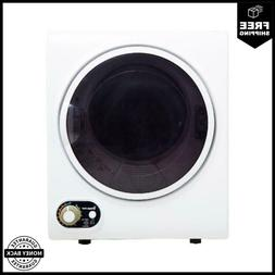 Magic Chef 1.5 cu ft Compact Dryer In White With Easy-Set Co