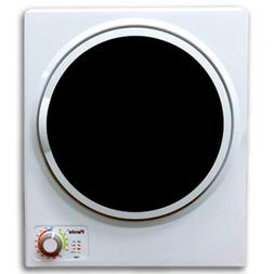 1.50 cu. ft. white and black electric compact portable laund