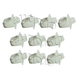 10 Pack Dryer Door Catch Strike Latch Kit Fits Kenmore Whirl