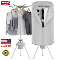 1000W Electric Clothes Dryer Rack Portable Wardrobe Machine