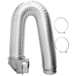 BUILDERS BEST 111718 4 x 8ft UL Transition-Duct Single-Elbow