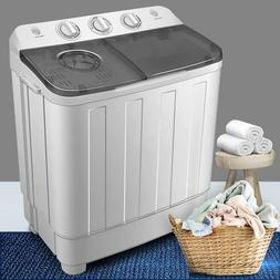 17LBS Top Load Washing Machine Compact Laundry Washer Dryer