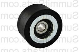"2"" BLACK SUPPORT WHEEL, ROLLER FOR ADC AMERICAN DRYER - 1800"