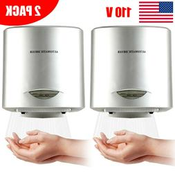 2 Pack Automatic Comercial Electric Hand Dryer High Speed Ba