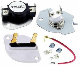279816 3390719 Dryer Thermal Cut Off Kit and Thermal Fuse fo
