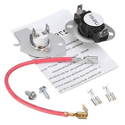 Ximoon 279816 Dryer Thermostat Fuse Kit for Whirlpool & Kenm