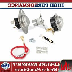 279838 Dryer Heating Element Thermostat Fuse Kit for Whirlpo