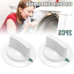 2Pcs WE1M652 GE Dryer Timer Control Knob For Hotpoint Replac