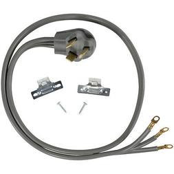 3 Prong  Universal Electric Dryer Power Cord  5 foot, 3 wire