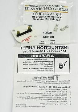 Whirlpool 3390719 Thermal Fuse for Dryer