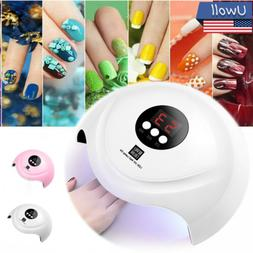 36W LED UV Nail Polish Dryer Lamp Gel Acrylic Curing Light S