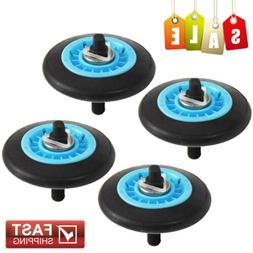 4pcs Dryer Drum Support Roller with Shaft For Samsung DC61-0