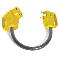 Camco Rv Dogbone Electrical Adapter With Easy Powergrip