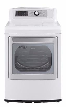 LG 7.3 Cu Ft 14-cycle Ultralarge-capacity Steam Electric Dry
