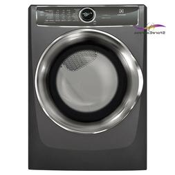 8.0 cu. ft. Gas Dryer with Steam, Predictive Dry in Titanium