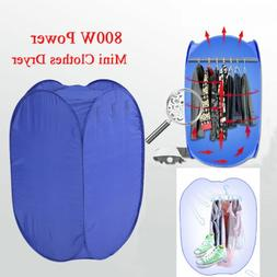 800W Electric Dryer Machine Clothes Drying Bag Portable Fold