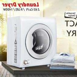 9L 1400W Portable Electric Tumble Laundry Dryer Stainless St