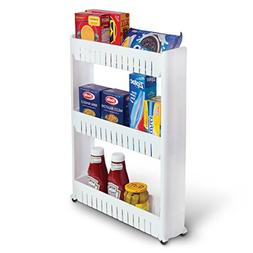 Laundry Room Organizer and Slim Storage Cart – Mobile Whee