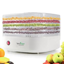 NutriChef Food Dehydrator Machine - Professional Electric Mu