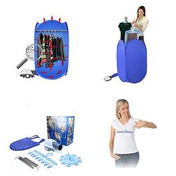 Weekweed - Portable Folding Electric Air Drying Clothes Drye