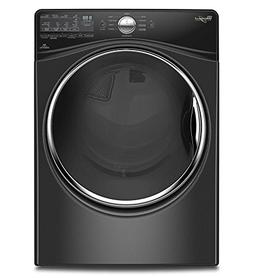 Whirlpool - 7.4 Cu. Ft. 10-cycle Electric Dryer With Steam -