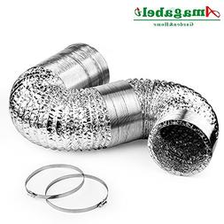 4in Aluminum Foil Duct Hose Grow Tent Room Ventilation Cooli