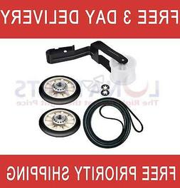 For Amana Admiral Dryer Repair Maintenance Kit Belt Pulley R