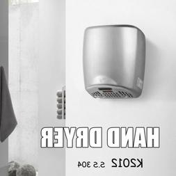Automatic Hand Dryer Stainless Steel 304 High Speed Bathroom