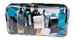 Extra-Large Capacity Clear Toiletry Travel Bag/Transparent W