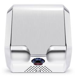 Commercial Bathroom Automatic High Speed Hand Dryer, Stainle
