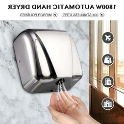 Commercial Electric Hand Dryer Machine Touchless Auto Air St