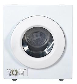 compact 2 6 cu ft laundry dryer