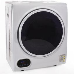 compact digital automatic electric clothes dryer machine