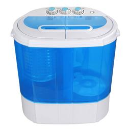 Compact lightweight Portable Washing Machine 10lbs Washer w/