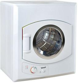 Compact Portable Laundry Dryer White Electric Panda 2.65 Cu.