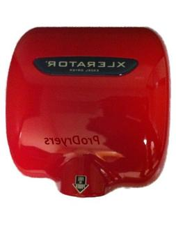 Excel Dryer XL-SP Red XLERATOR Automatic Commercial Hand Dry