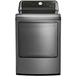LG DLE7050V 7.3 Cu. Ft. Graphite Steel Electric Dryer with S
