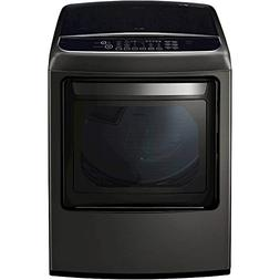 LG DLEY1901KE 7.3 Cu. Ft. Black Stainless Electric Dryer wit