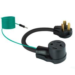 Dryer Adapter Plug Cord 4 Prong to 3 Prong 14-30P Male to 10