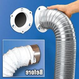 Dryer Dock 5000 1 Dryer Vent Quick Connect 6 White TEJ