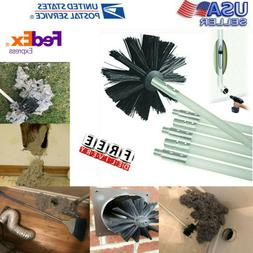 Dryer Duct Cleaning Brush Kit Lint Remover Extends Up To 12f