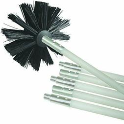 Deflecto Dryer Duct Cleaning Kit,  Lint Remover,  Extends Up