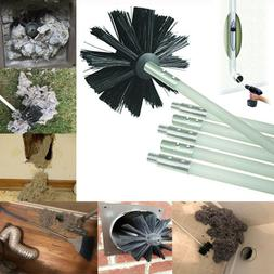 Dryer Duct Cleaning Kit Lint Remover Tube Pipe Clean Chimney