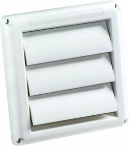 4 in Dryer Vent Cover Louvered Outdoor Outside Outlet Duct 4