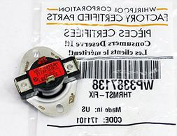 """Whirlpool""""Clothes Dryer Thermostat Control Assembly - 338713"""