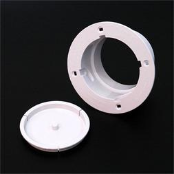 Deflecto DRYER WALL PLATE/PLUG Venting System Low Profile Pl