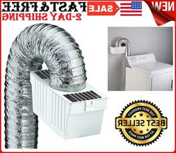 Deflecto Dryer Washing Machine Lint Trap Vent Indoor Filter