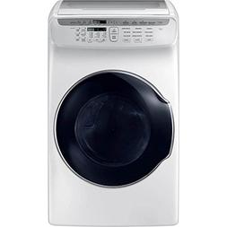 Samsung DVE55M9600W 7.5 Cu. Ft. White Electric Dryer with Fl