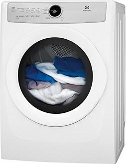 "Electrolux EFDE317TIW 27"" Front Load Electric Dryer with 8 c"