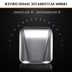 Commercial Restroom Hand Dryer 1800W with Touchless Electric